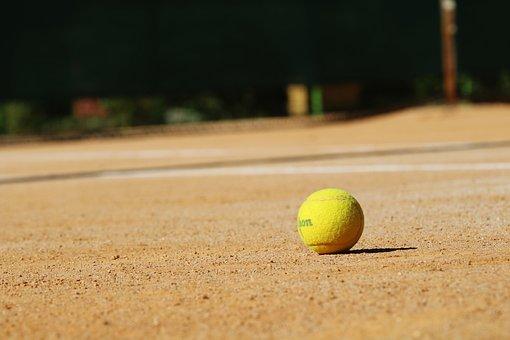 テニス, テニスコート, スポーツ, 運動, 球, テニスボール, コート