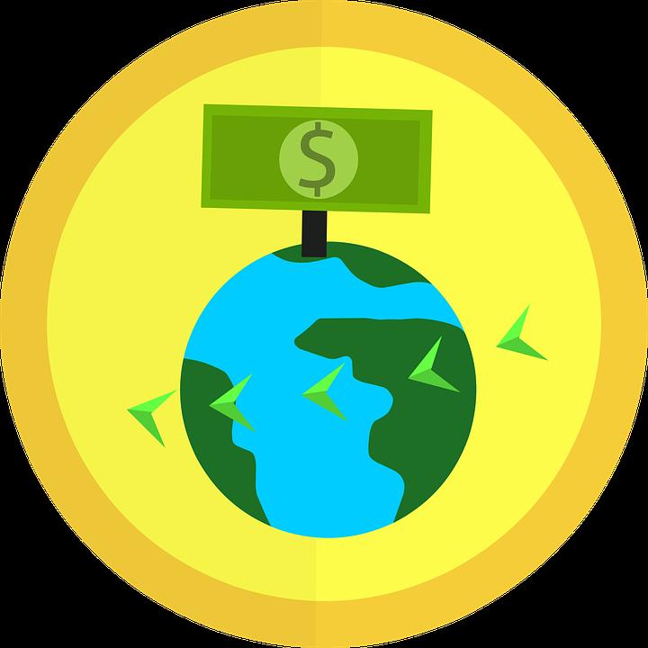 お金, 送金, 世界, 地球, 法案, ビジネス, 現金, 通貨, ドル, ファイナンス, フラット, フライ