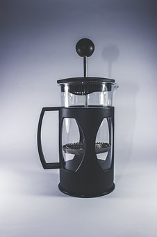 French Press, Coffee, Tools, Equipment