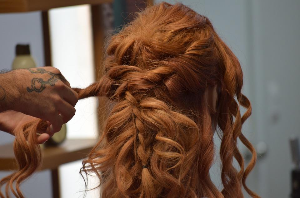 Frisur Zopf Haar Rote Kostenloses Foto Auf Pixabay