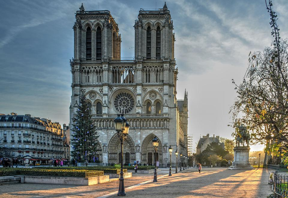 Cathedral, Notre Dame, Paris, Morning Light