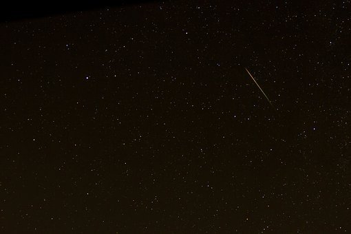 Shooting Star Starry Sky Perseids