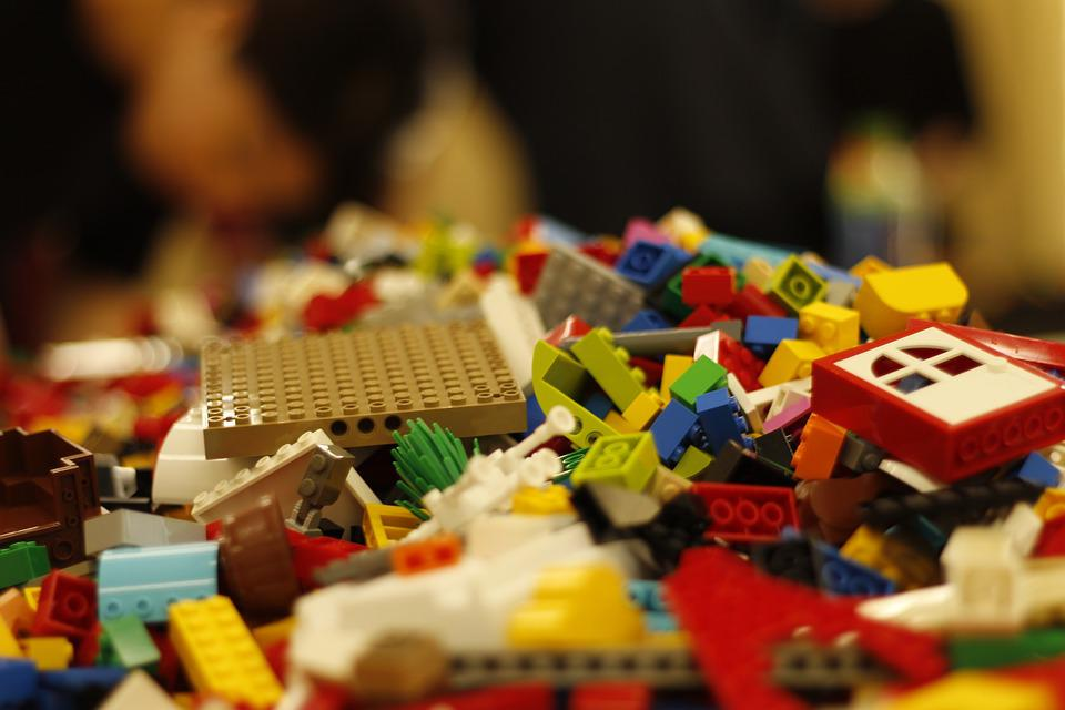 Lego, Block, Toys