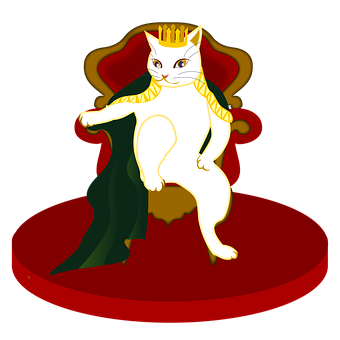 King, Cat, Those In Power, Throne