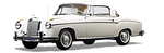 mercedes benz, 220 s, coupe