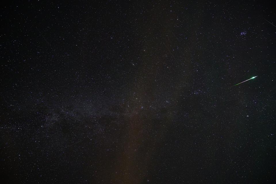 étoile Filante Meteor Perséides Photo Gratuite Sur Pixabay