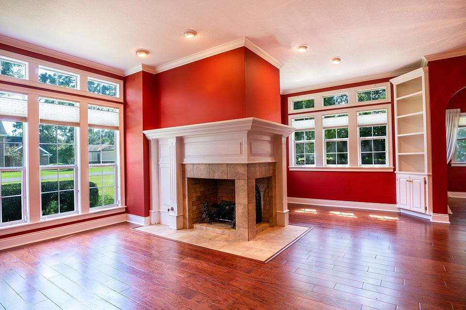 客厅, 结构, 室内, 公寓, 设计, 房间, 房子, 首页, 地板, 当代, 豪华, 窗口
