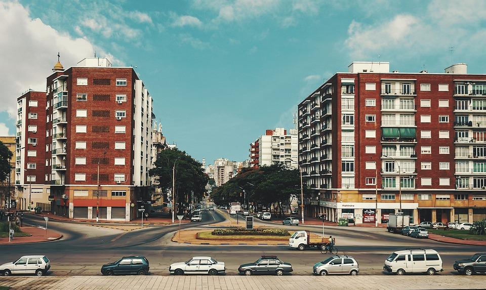 Montevideo, Uruguay, Latina, Ciudad, Paisaje
