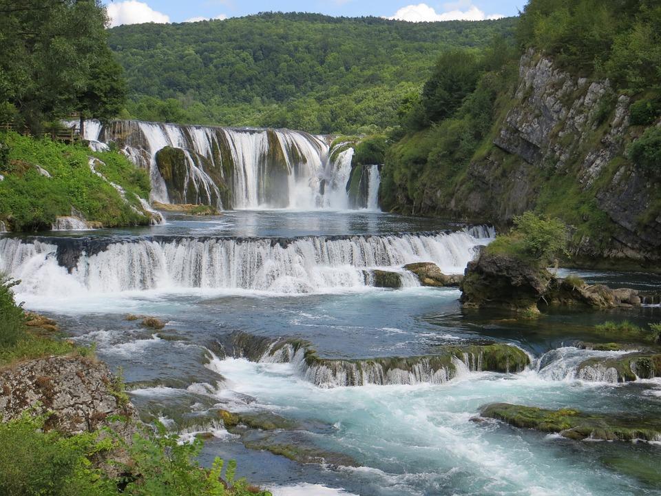Wasserfälle, Bosnien-Herzegowina