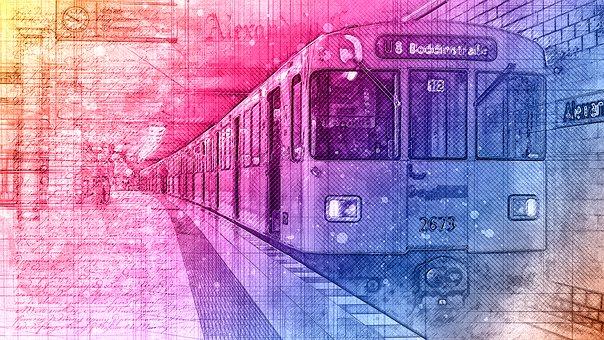 Train, Metro, Subway, Railway, Station
