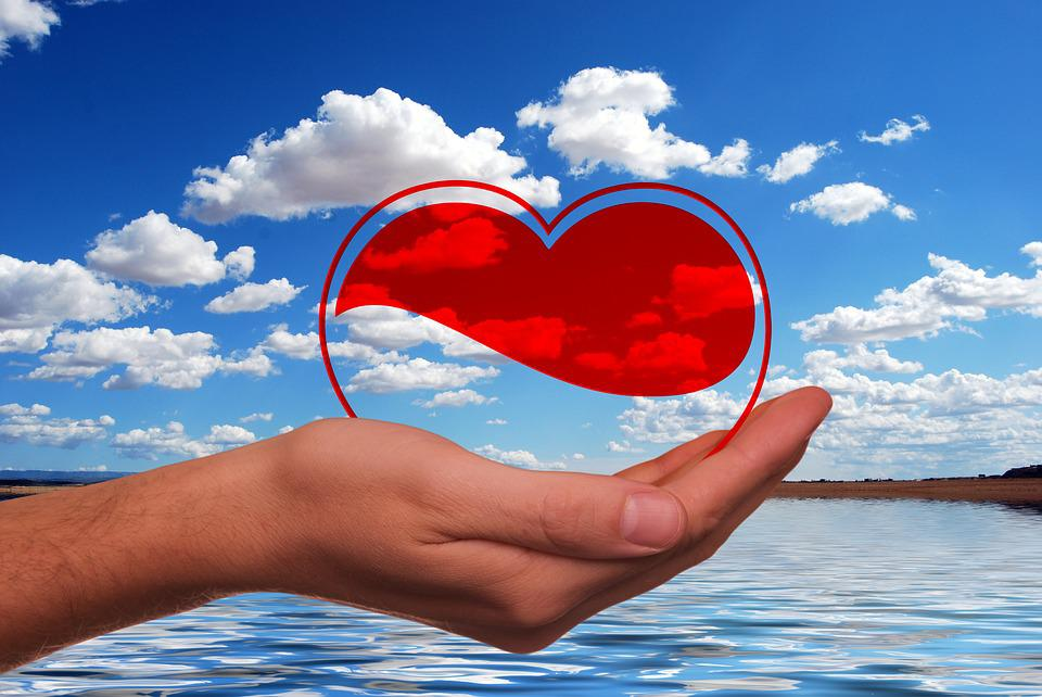 Heart, Hand, Keep, Float, Valentine'S Day, Love