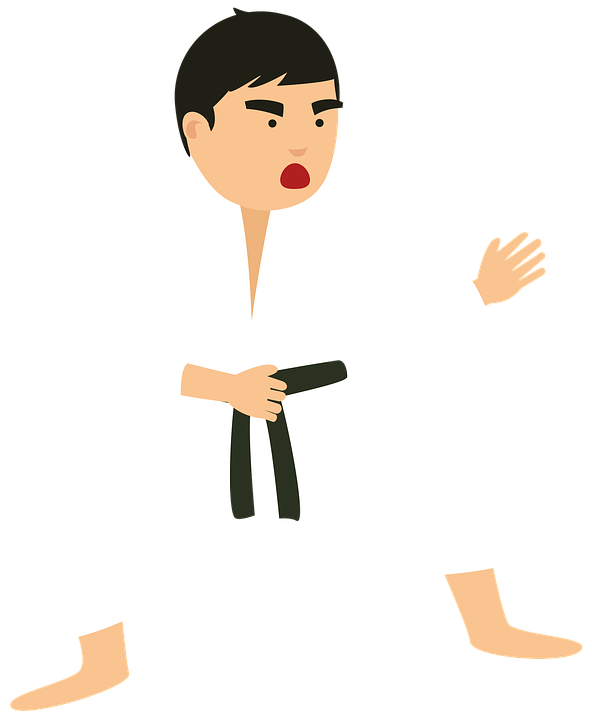karate fight defense free image on pixabay