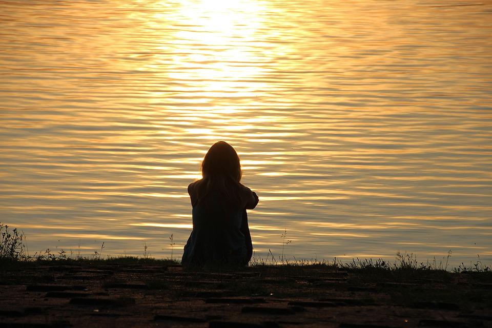 lakeside meditation peaceful free photo on pixabay