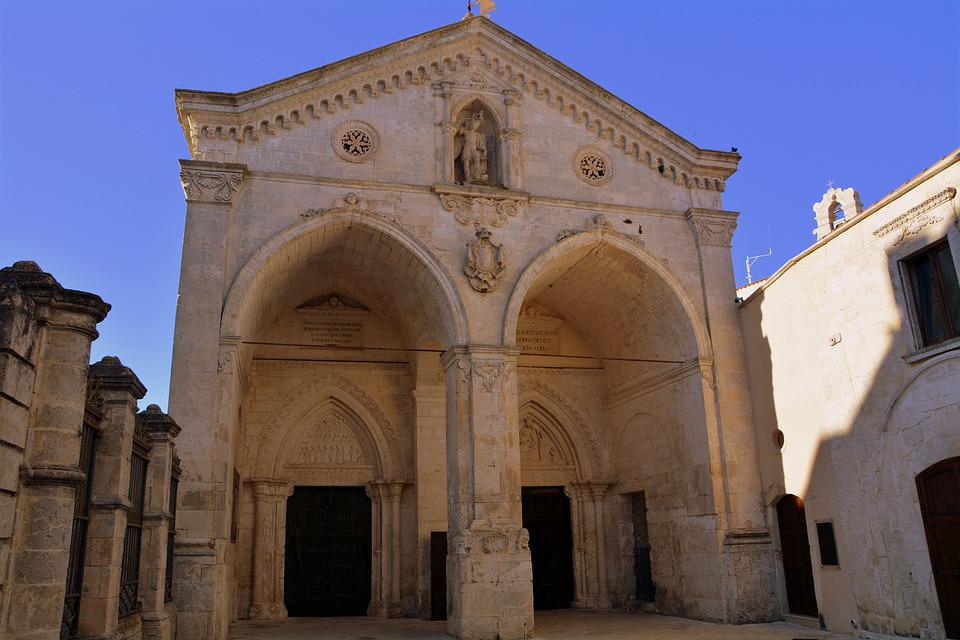 Templom, Monte Sant'Angelo, Gargano, Puglia
