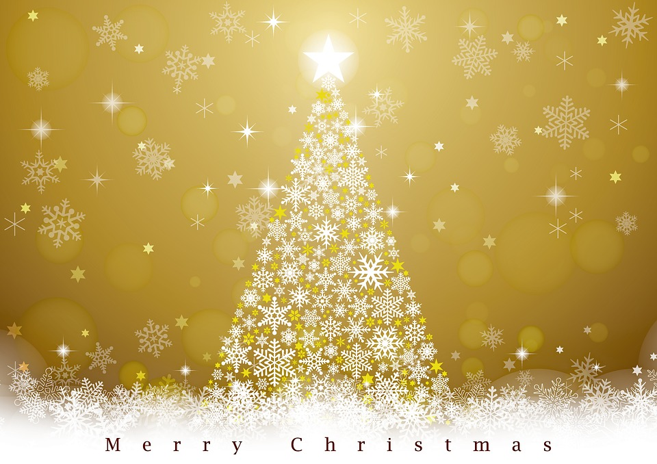 Immagini Natale Oro.Buon Natale Oro Albero Di Immagini Gratis Su Pixabay
