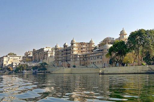 India, Udaipur, City Palace