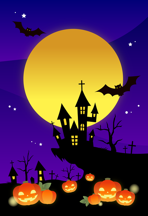halloween background scrapbooking free vector graphic on pixabay