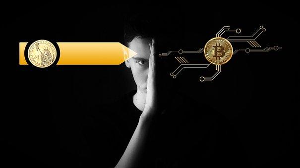 Digitization, Currency, Bitcoin, Dollar