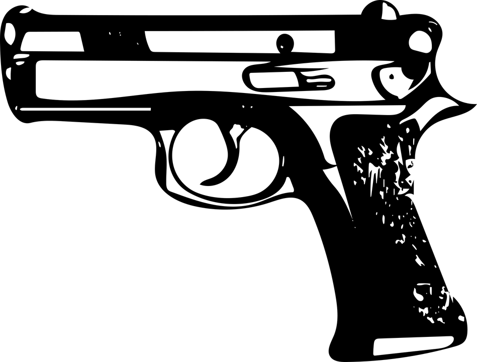 Gun Icon Symbol Free Vector Graphic On Pixabay