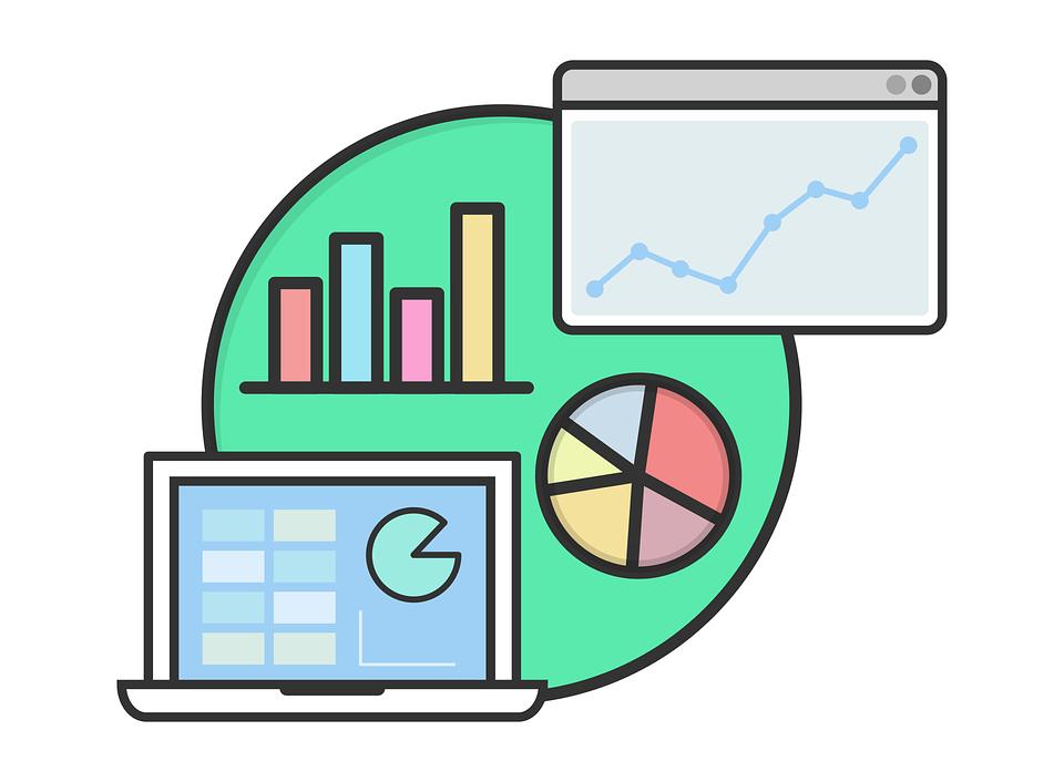 メリット1.SEO対策に強い|グラフのイラスト|集客できるブログはWordPressがおすすめ|アインの集客マーケティングブログ