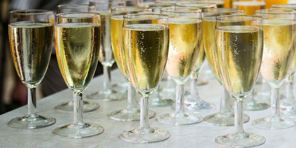Trinken, Sekt, Champagner, Glas, Sektglas, Feiern