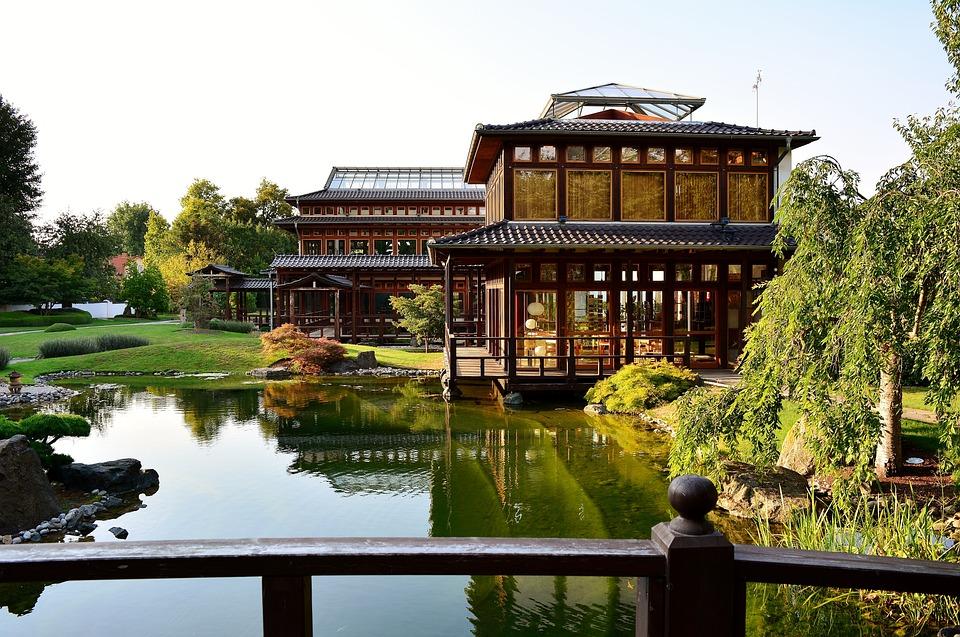 Japanse tuin bad langensalza · gratis foto op pixabay