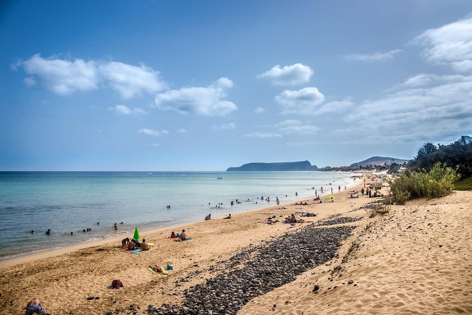 Porto Santo Island, Wood, Costa, Mar, Beach, Hdr, 6K