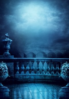Background, Fantasy, Balcony, Bridge