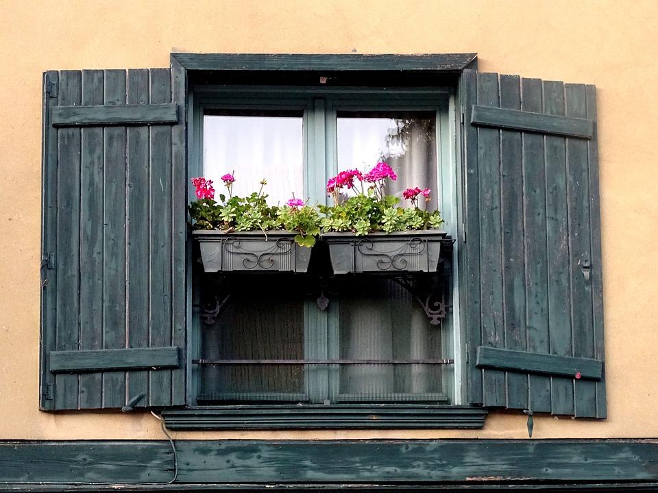 house window shutters adding house window shutters flower box amiens house window shutters flower free photo on pixabay