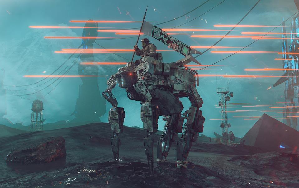 サイファイ, 戦争, 未来, 未来の, ロボット, 銃声, 戦闘, ゲーム, 技術, ファンタジー, 文字