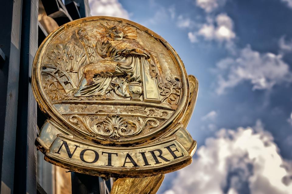 Bouclier, Annonce, Notaire, L'Information, Note
