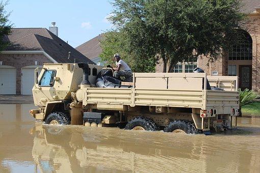 Hurricane Harvey, Flood, Army