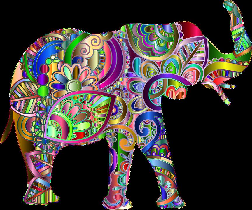 Elefant Blume Blumen · Kostenlose Vektorgrafik auf Pixabay