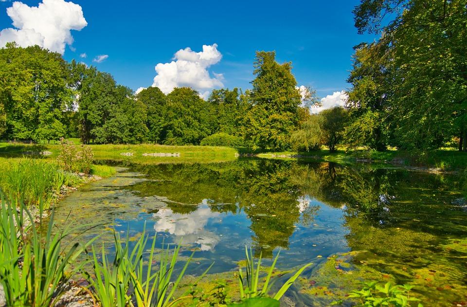 حدائق وبحيرات في مدينة برلين، ألمانيا