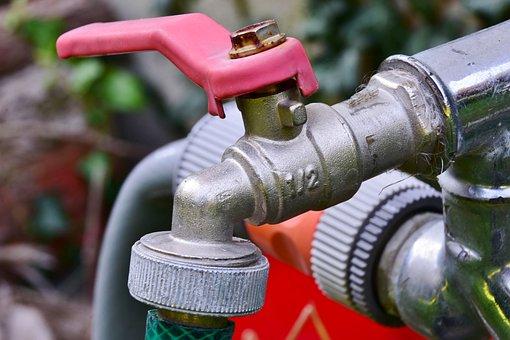 Wasserhahn, Bewässerung, Schlauch