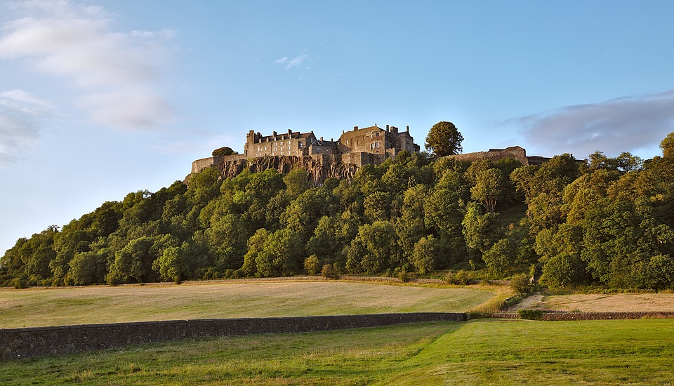 Panoramic view of Stirling Castle