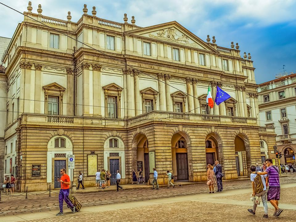 Teatro Alla Scala, Theater, Architecture, Building