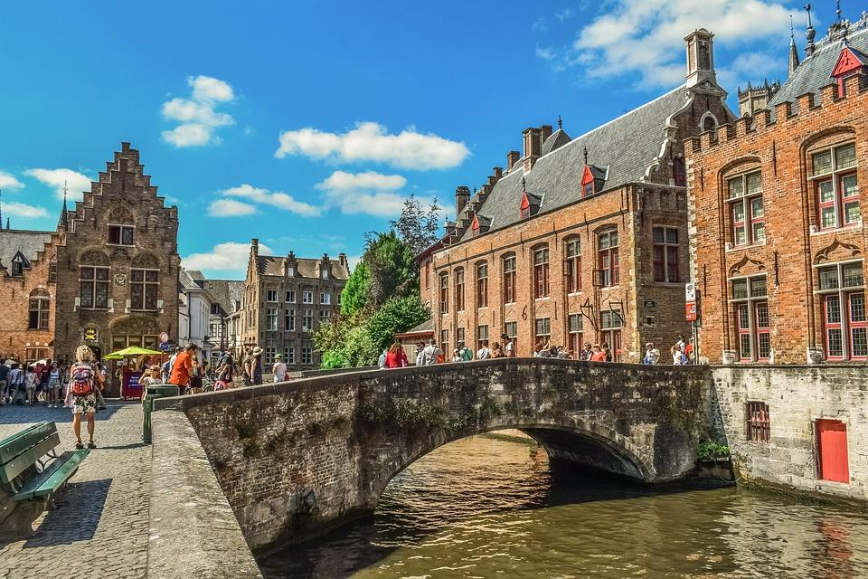 Belgique Brugge Canal - Photo gratuite sur Pixabay