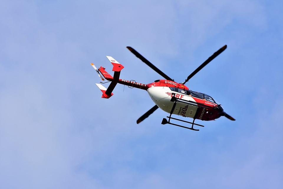 ヘリコプター, 救助ヘリコプター, 空気の救助, 救急ヘリコプター, 救助, オンコール ドクター, 事故救助