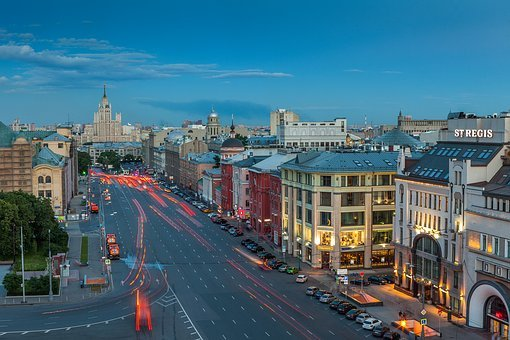 отели Москвы в центре города
