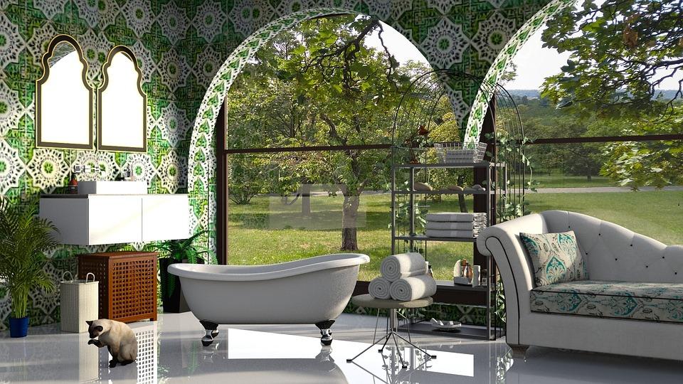 Bad Badezimmer Grun Kostenloses Foto Auf Pixabay