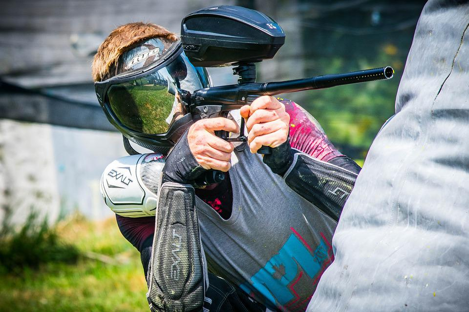 Paintball Shooting Player - Free photo on Pixabay