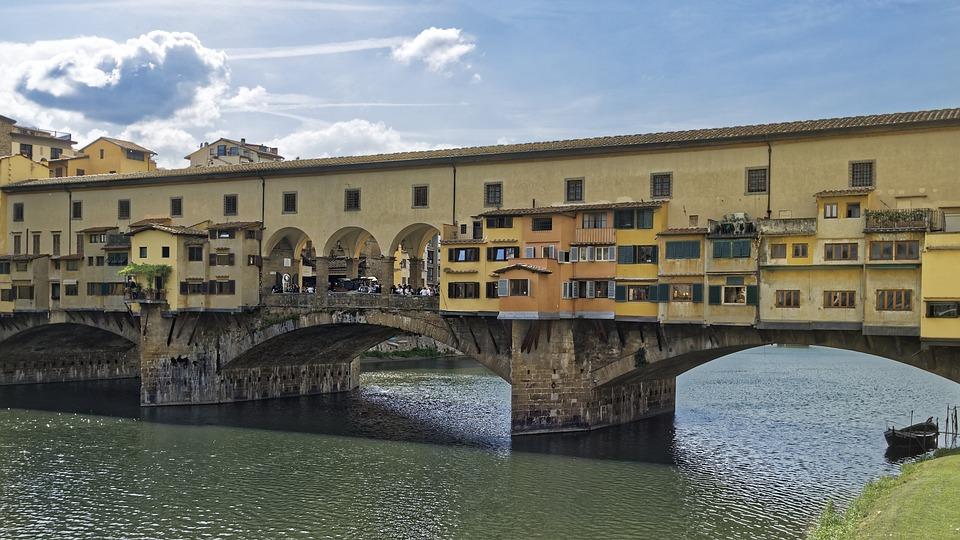 Italien Florens Firenze Ponte Gratis Foto Pa Pixabay