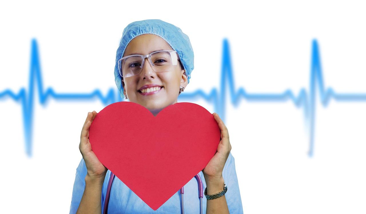 Nurse Heart Pulse - Free photo on Pixabay