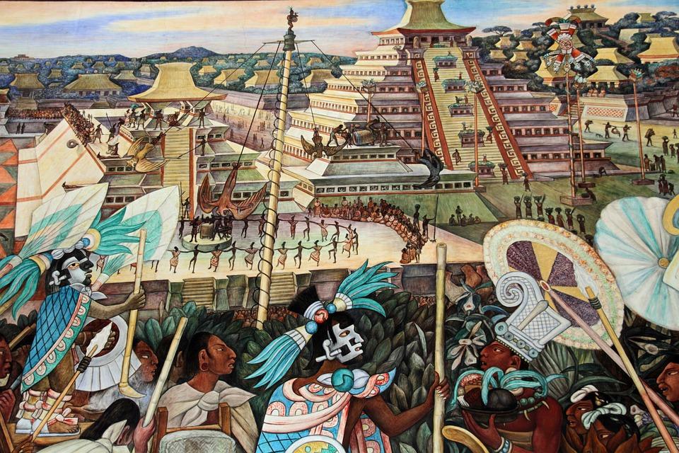 Vægmaleri Diego Rivera - Gratis foto på Pixabay
