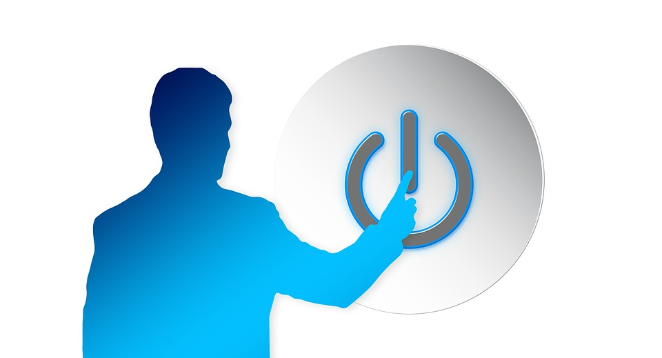 turn on standby energy free image on pixabay