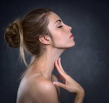 女の子, 女性, 手, 爪, 美しさ, 美容, レザー, 化粧品, 若い