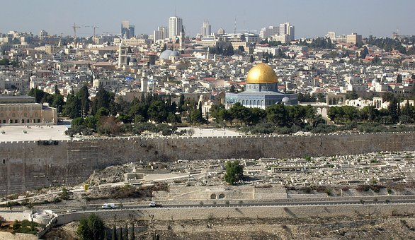 Jerusalem, Israel, Ancient, Holy, Temple