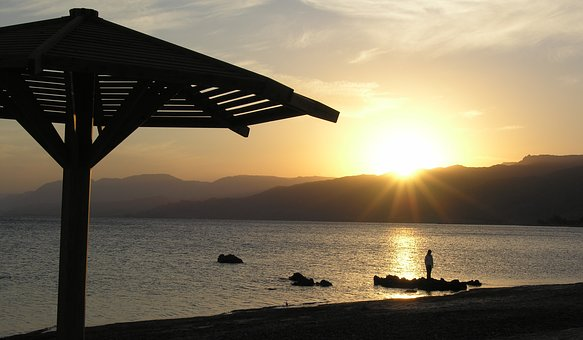 Sunset, Sea, Summer, Sky, The Sun