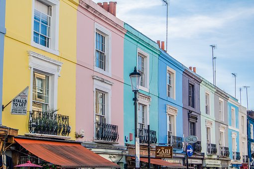 London, Nottinghill, Portobello Road